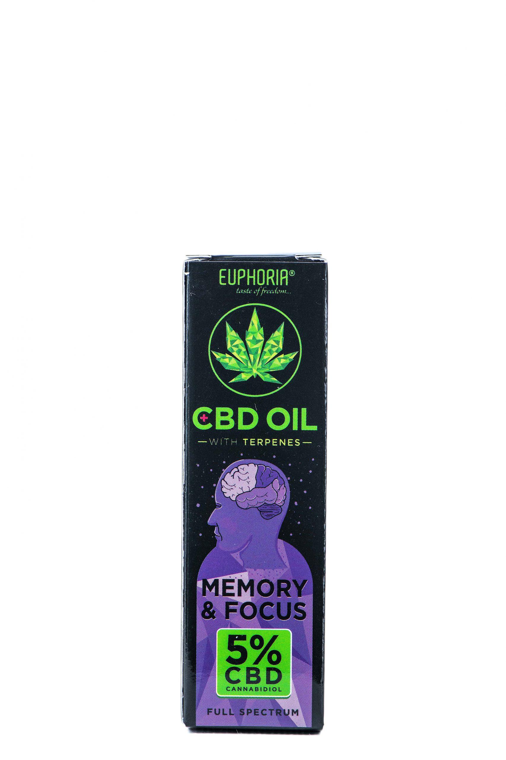 CBD-maslo-5%-Memory&Focus Euphoria