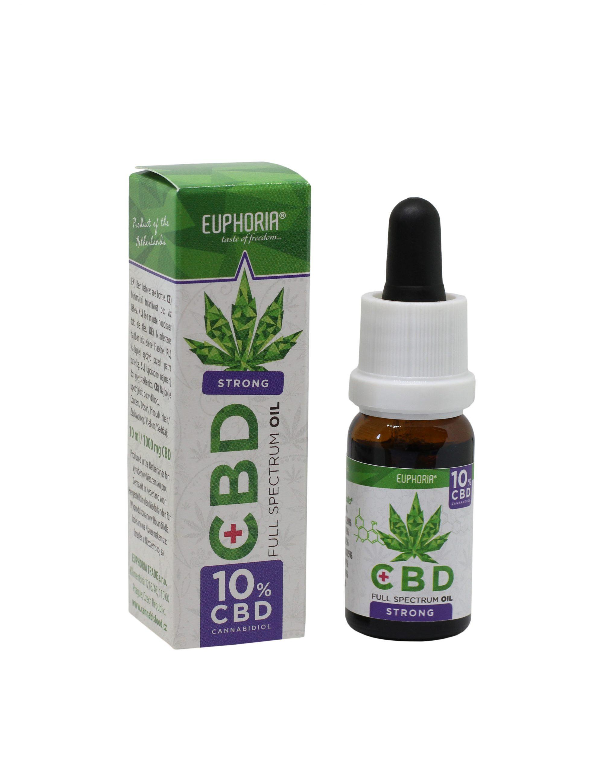 CBD-maslo-Euphoria 10%