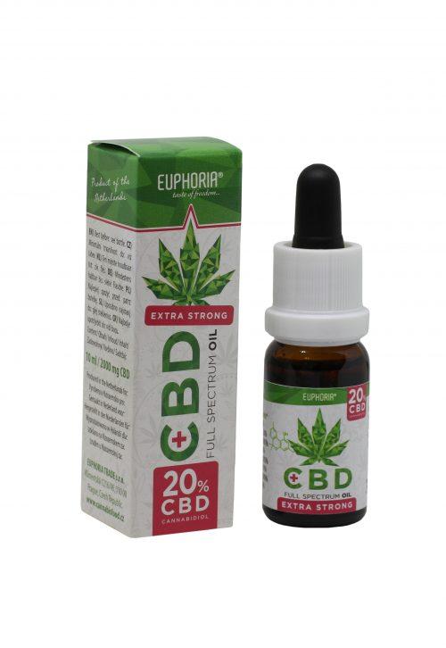 CBD-maslo-Euphoria 20%