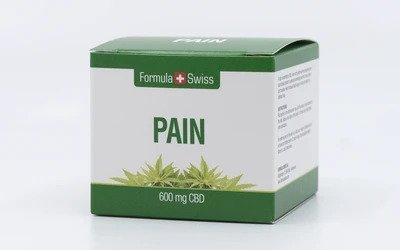 CBD крем за ставни болки 600 mg FormulaSwiss